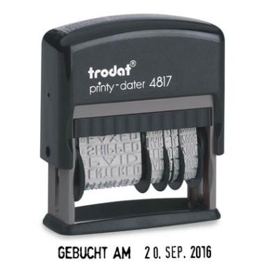 4817 Wortbandstempel printy dater