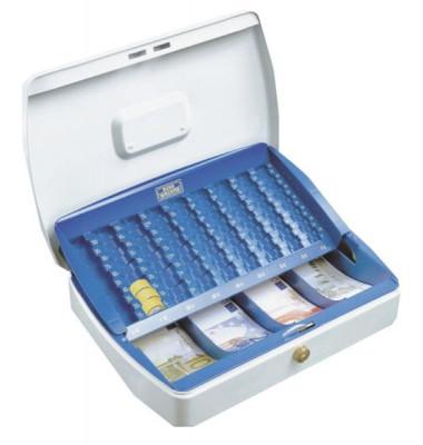 Geldkassette Office ZK2307 weiß 330x235x75mm