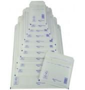 Luftpolstertaschen Typ 4, 2FVAF000184, innen 180x265mm, haftklebend + Lochung für Klammer, weiß
