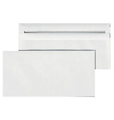 Briefumschläge Din Lang ohne Fenster selbstklebend 75g weiß 1000 Stück