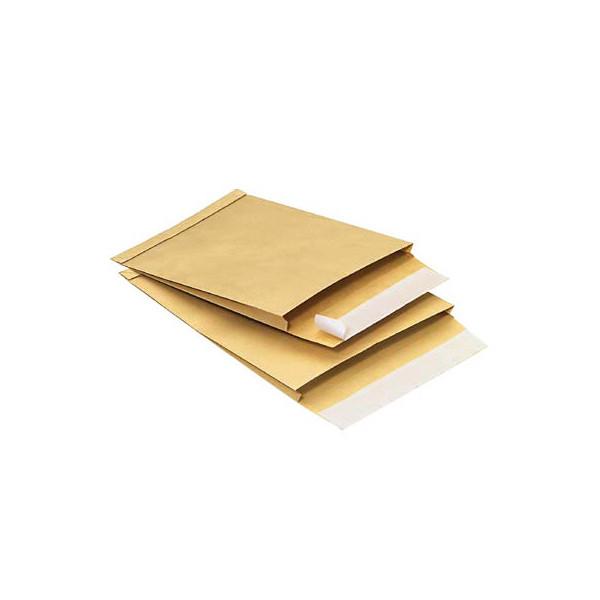 mailmedia faltentaschen b4 ohne fenster 20mm falte haftklebend 130g braun 100 st ck. Black Bedroom Furniture Sets. Home Design Ideas
