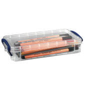 Aufbewahrungsbox transparent 0,55 l 22 x 4 x 10cm
