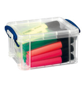 Aufbewahrungsbox transparent 0,7 l 15,5 x 8 x 10cm