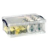 Aufbewahrungsbox transparent 12,0 l 46,5 x 15 x 27cm