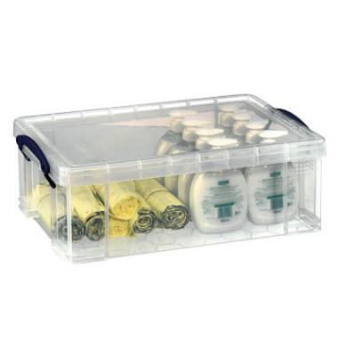Aufbewahrungsbox 12C transparent 12 Liter 465 x 270 x 150mm