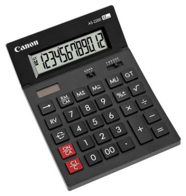 Tischrechner AS-2200/4584B001 schwarz