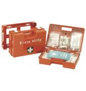 Erste-Hilfe-Koffer SAN orange gefüllt DIN 13157