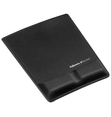 Mousepad mit Handgelenkauflage schwarz