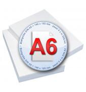 Standard A6 80g Kopierpapier weiß 2000 Blatt
