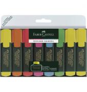 Textmarker 1548 Textliner 6+2 Etui farbig sortiert 1-5mm Keilspitze