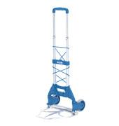 Klappkarre 1730 tragfähig bis 50kg silber/blau 38,5x30cm Aluminium/Kunststoff