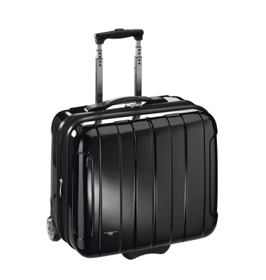 Notebook-Businesstrolley schwarz bis 17 Zoll