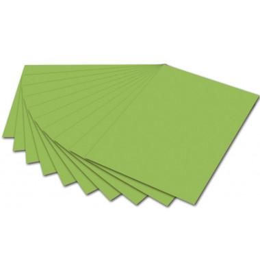 Fotokarton 50x70cm hellgrün/6151 300g 10 Bogen
