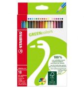 Greencolors Buntstifte18 Etui