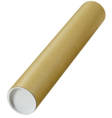 Versandrolle Elepa 500 mm Ø 80 mm braun