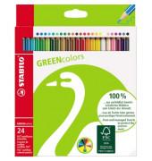 Farbstifte Greencolors, 24Er