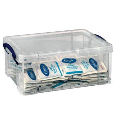 Aufbewahrungsbox transparent 9 l 255 x 155 x 395mm