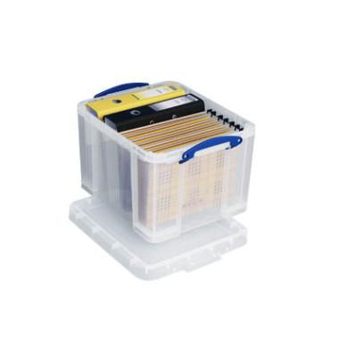 Aufbewahrungsbox 35C transparent 35 Liter 480 x 390 x 310mm