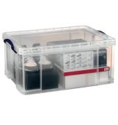 Aufbewahrungsbox 64C transparent 64 Liter 710 x 440 x 310mm