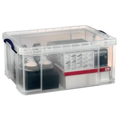 Aufbewahrungsbox transparent 64 l 440 x 310 x 710mm
