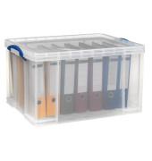 Aufbewahrungsbox 84C transparent 84 Liter 440 x 380 x 710mm