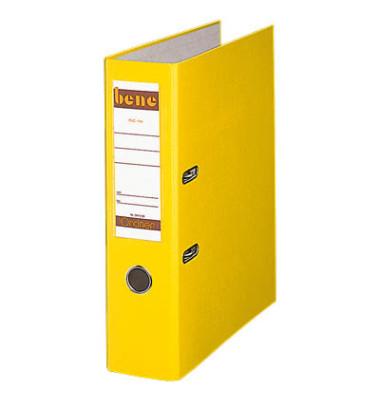 Doppelordner 292900 2x A5-quer gelb 75mm