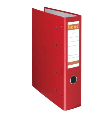 Doppelordner 292900 2x A5-quer rot 75mm