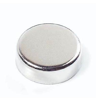 Magnete Muro rund 2,5cm chrom 6 Stück