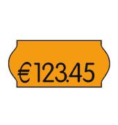 Preisetiketten 70-030-0-032, 26x12mm, leuchtorange permanent, 54.000 Etiketten