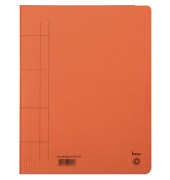 Schnellhefter 81100 A4 orange 250g Karton kaufmännische Heftung bis 250 Blatt