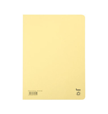 Aktendeckel 81900 A4 RC-Karton 250g gelb