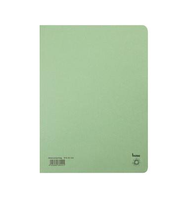 Aktendeckel 81900 A4 RC-Karton 250g grün