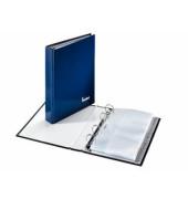 Visitenkartenringbuch/221425 dunkelblau A5