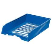 Briefablage 60100 A4 / C4 blau stapelbar
