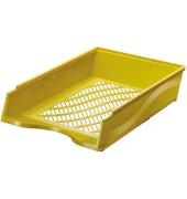 Briefablage 60100 A4 / C4 gelb stapelbar