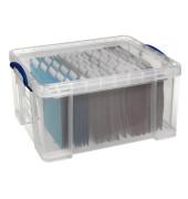 Aufbewahrungsbox 48C transparent 48 Liter 610 x 402 x 315mm