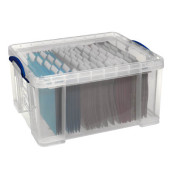 Aufbewahrungsbox transparent 48 l 402 x 315 x 610mm