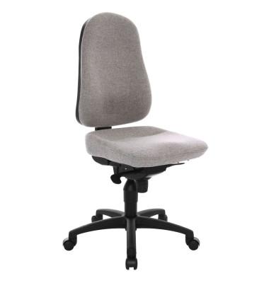 Bürodrehstuhl Body Balance 50 ohne Armlehnen grau