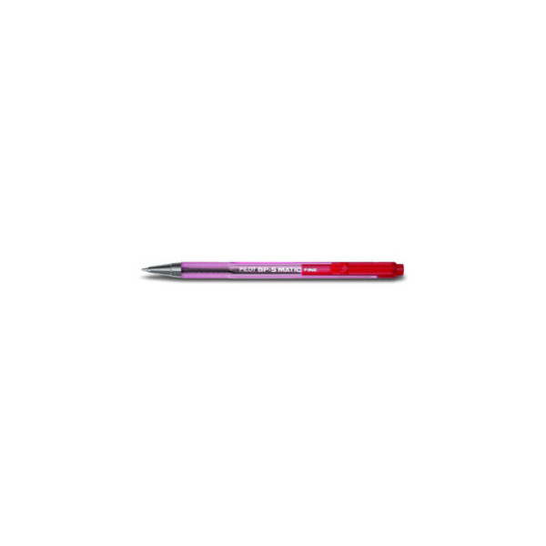 PILOT Kugelschreiber BP-S Matic rot 0,3 mm Druckmechanik