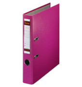 No.1 Power 291600RS rosa Ordner A4 52mm schmal