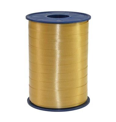 Geschenkband Ringelband 10mm x 250m gold