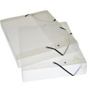 Dokumentenbox Kristall/5972E 40 mm transparent