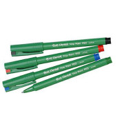 Tintenschreiber Ball R50 farbsortiert (3x schwarz, blau, rot, grün)