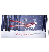 Weihnachtskarten Winter`s Eve Din Lang 10 Stück inkl. weißen Umschlägen