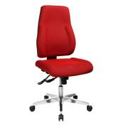 Bürodrehstuhl Point 91 ohne Armlehnen rot