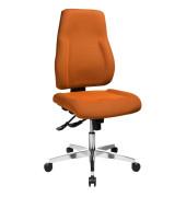 Bürodrehstuhl Point 91 ohne Armlehnen orange