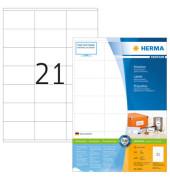 Etiketten 4634 70 x 41 mm weiß 4200 Stück Premium