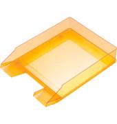 Briefablage H23615 A4 / C4 orange-transparent stapelbar 5 Stück
