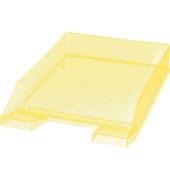 Briefablage H23615 A4 / C4 gelb-transparent stapelbar 5 Stück