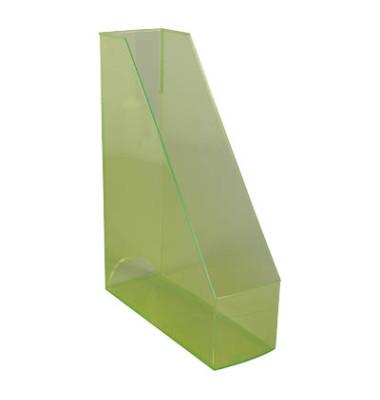 Stehsammler H23614-50 The Tower 85x240x322mm C4 Polystyrol grün-transparent 2 Stück